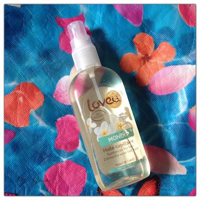 huile capillaire Lovea
