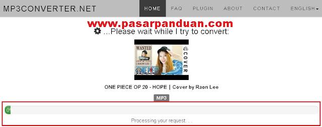 cara download lagu atau mp3 dari youtube dengan situs online