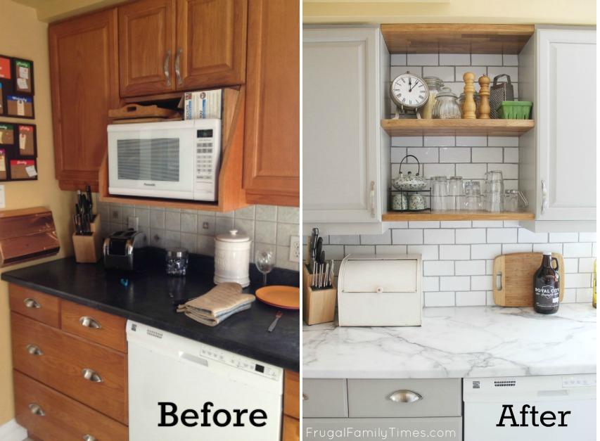 кухня обновить