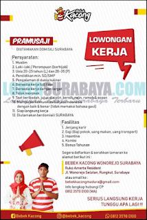 Lowongan Kerja di Bebek Kacong Wonorejo Surabaya Terbaru April 2019