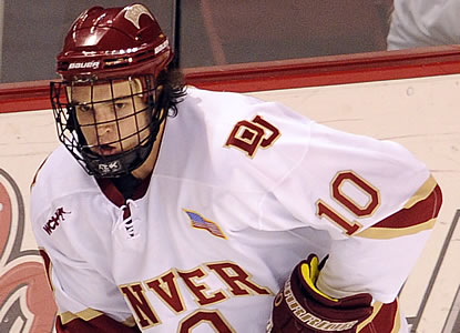 LetsGoDU  College Hockey News Profiles David Makowski 28f8966c9