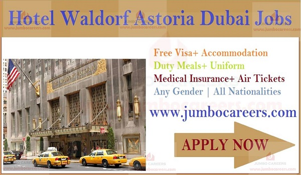 Restaurant jobs in Dubai, Hotel jobs openings in Dubai,