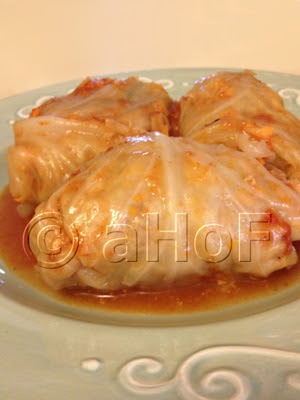 Holupki aka Stuffed Cabbage Rolls