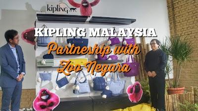 KIPLING Malaysia announces Partnership with Zoo Negara Malaysia