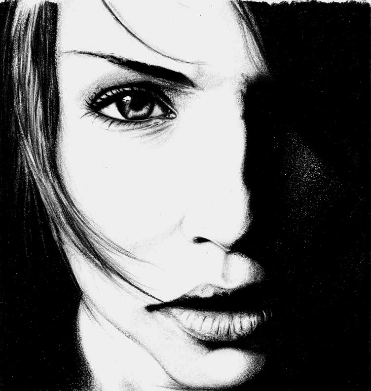 03-Four-Lukasz-Koniuszy-Black-and-White-Portrait-Drawings-in-Pencil-www-designstack-co