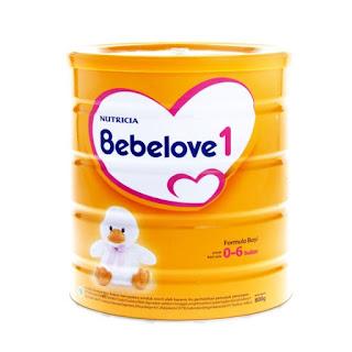 Harga Bebelove 1 kemasan kaleng 400 gram Susu Bayi Usia 0-6 bulan