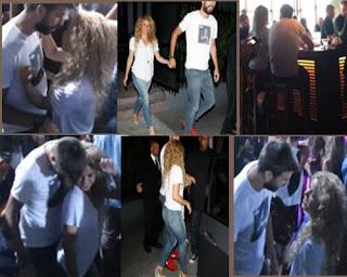 Shakira y Pique en Club