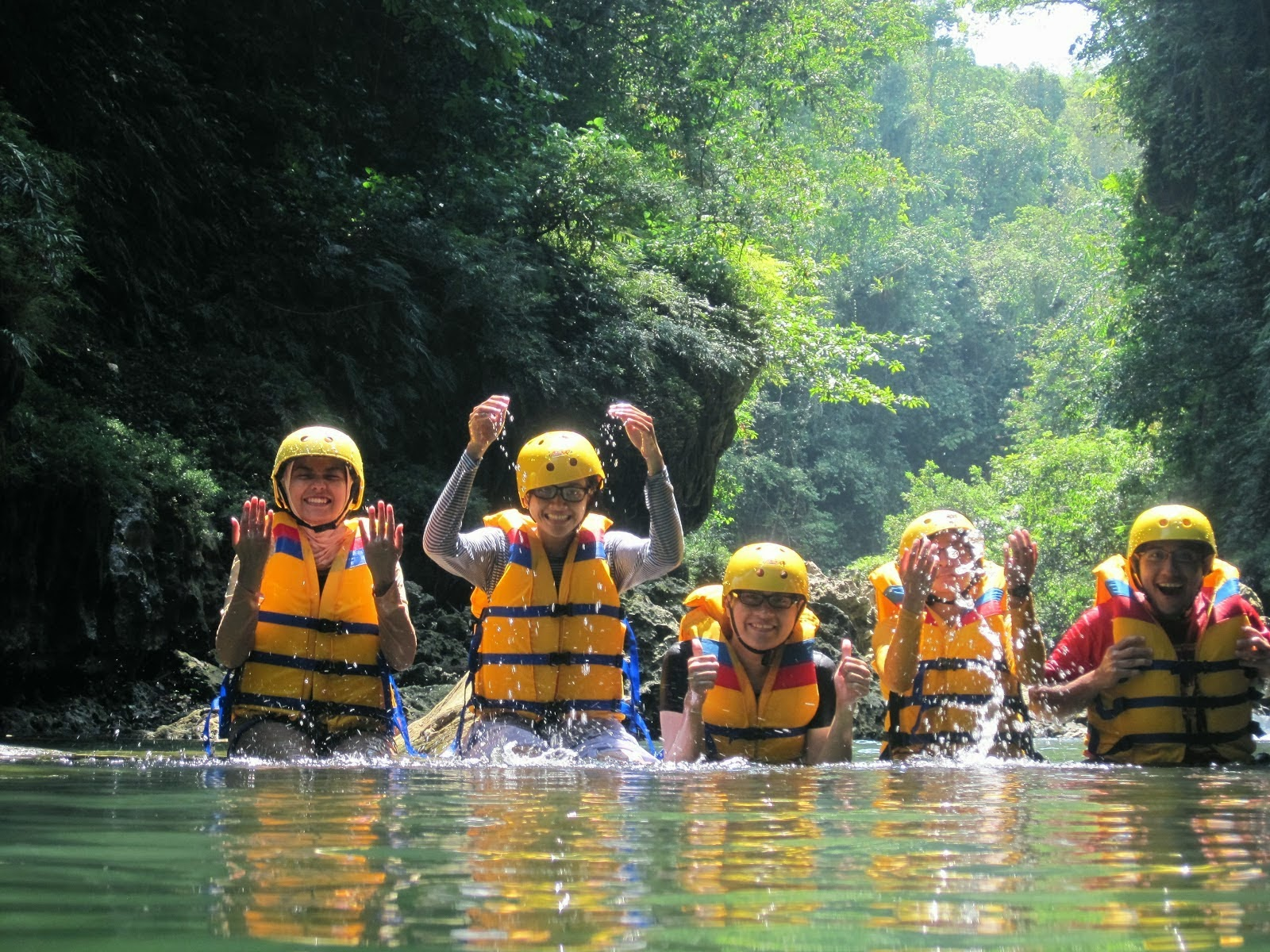 amazing body rafting