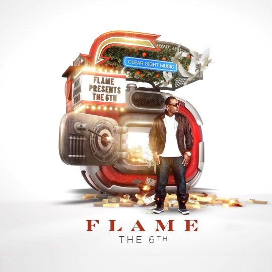 Flame - the 6th - Album Art
