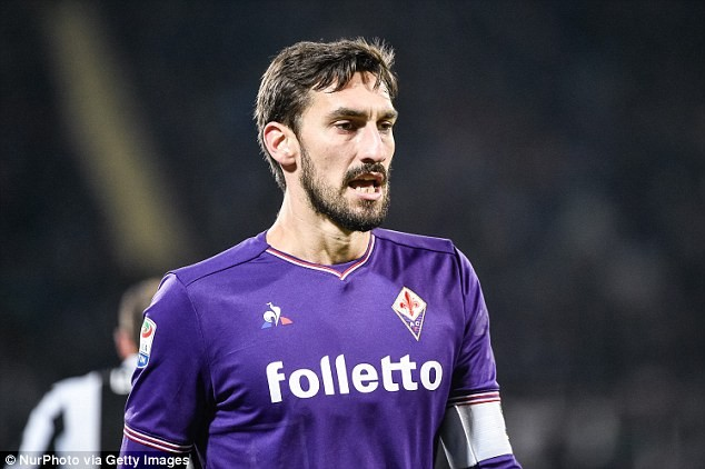 Fiorentina captain and Italy international footballer Davide Astori, 31, dies in his sleep
