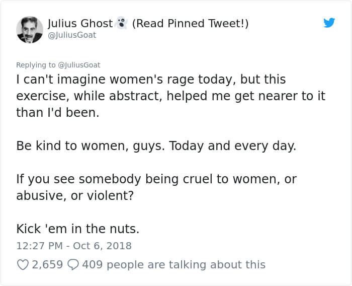 Guy Uses An Honest, Thought-Provoking Analogy To Explain Women's Rage To Men