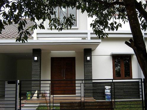 8 Model Desain Dak Teras Cor Rumah Minimalis Modern