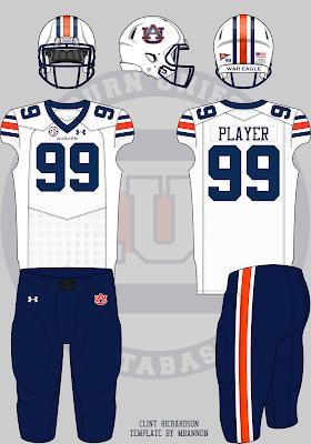 Auburn football concept