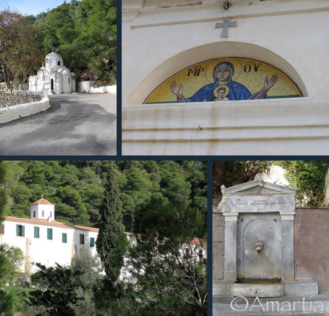 Poros Saronique Grèce