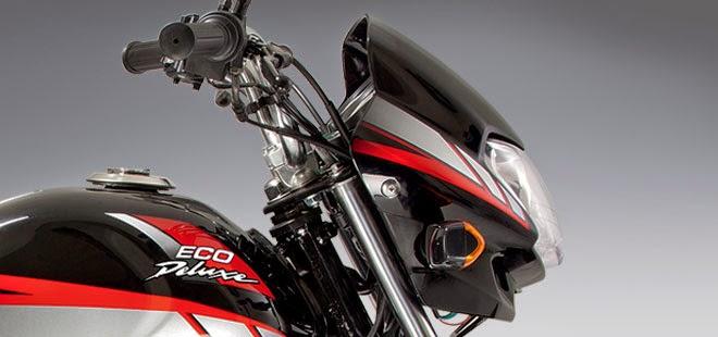 Honda Eco Deluxe:Carenaje-tanque