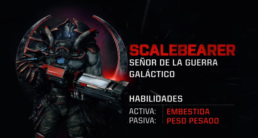 Scalebearer aplastará en Quake Champions, ¡conócelo!