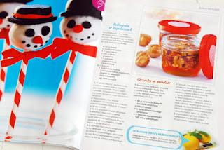 Wnętrze magazynu, przepisy na świąteczne słodkości