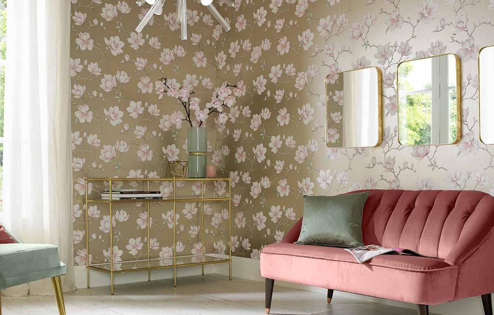 Wallpaper ruang tamu elegan dan cantik | Cara memilih wallpaper ruang tamu yang tepat