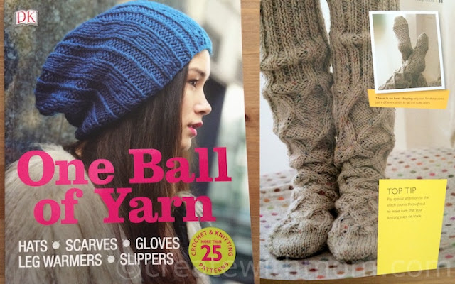 one ball of yarn dk book