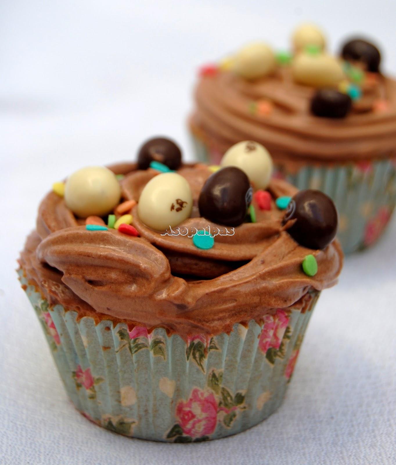 Cupcakes de Conguitos