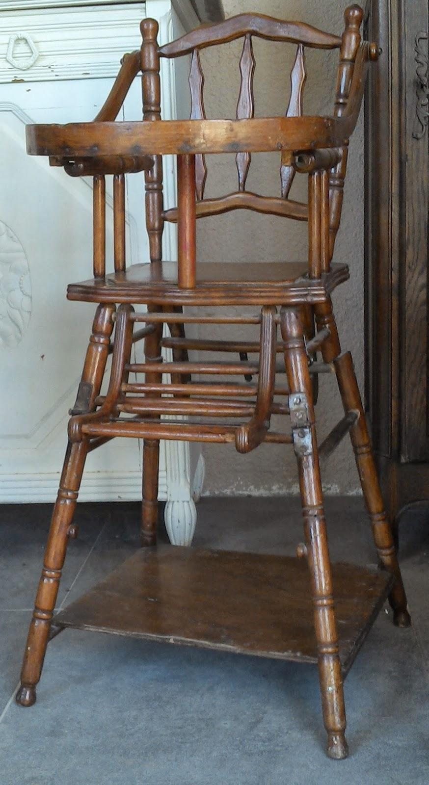 chaise haute enfant fa on bambou thonet ancienne a systeme pliante pliable vintage art nouveau. Black Bedroom Furniture Sets. Home Design Ideas