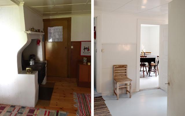 Istandsættelse af køkken i svensk sommerhus