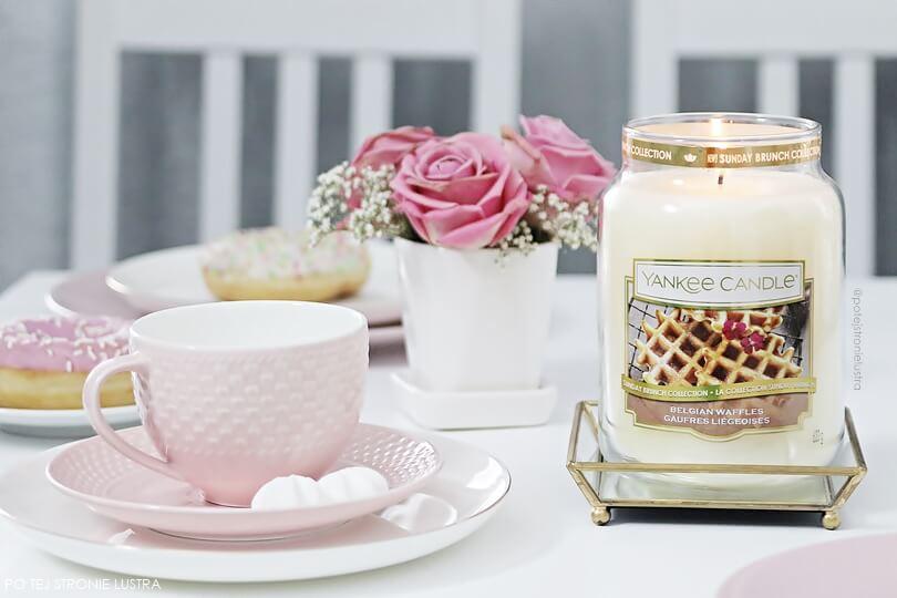 yankee candle belgian waffles blog recenzja