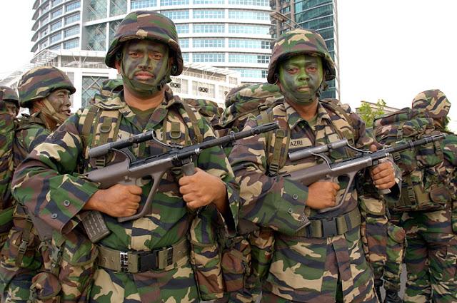 Gaji Tentera Naik Sehingga 41 Peratus pada Julai 2016