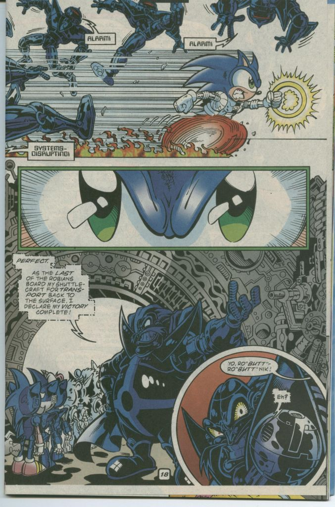 Read online Sonic The Hedgehog comic -  Issue #75 - 25