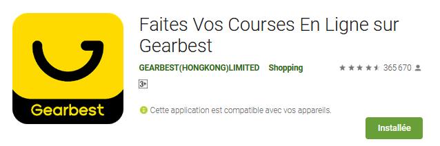 تحميل تطبيق متجر Gearbest