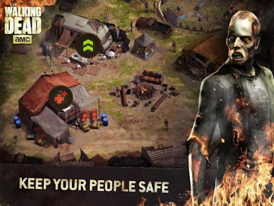 The Walking Dead No Man's Land keep your people safe