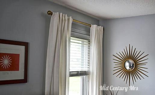 mid century mrs mid century curtain draperyrods installed