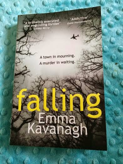 Falling paperback book by Emma Kavanagh