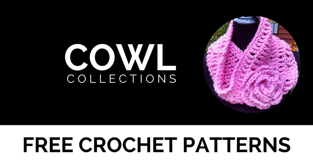 Cowls Round Up | Free Crochet Patterns by I'm Hooked!