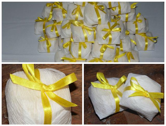Casamento Amarelo e Branco - Bem casado