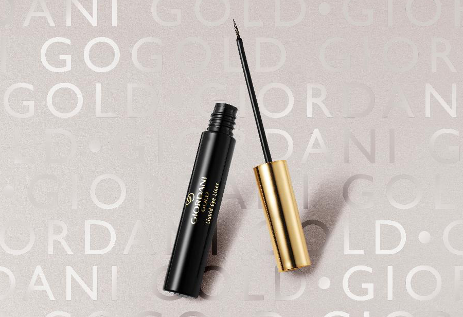 Eyeliner Líquido Giordani Gold - Sparkling Black