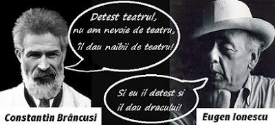 Constantin Brâncuşi şi Eugen Ionescu