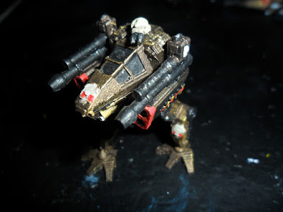 The Storm Cleaver prototype, painted (done on the Replicator 2, with the standard turret in WSF)