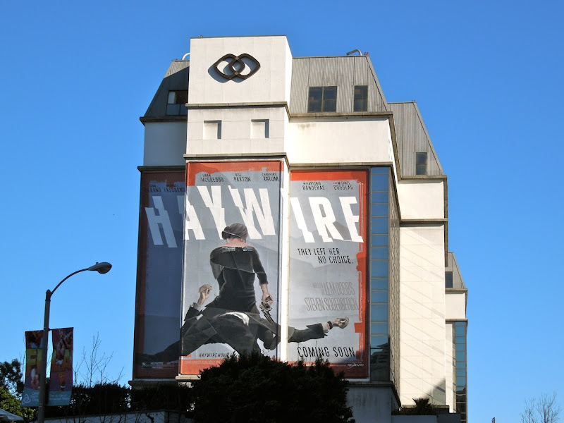 Haywire movie billboard