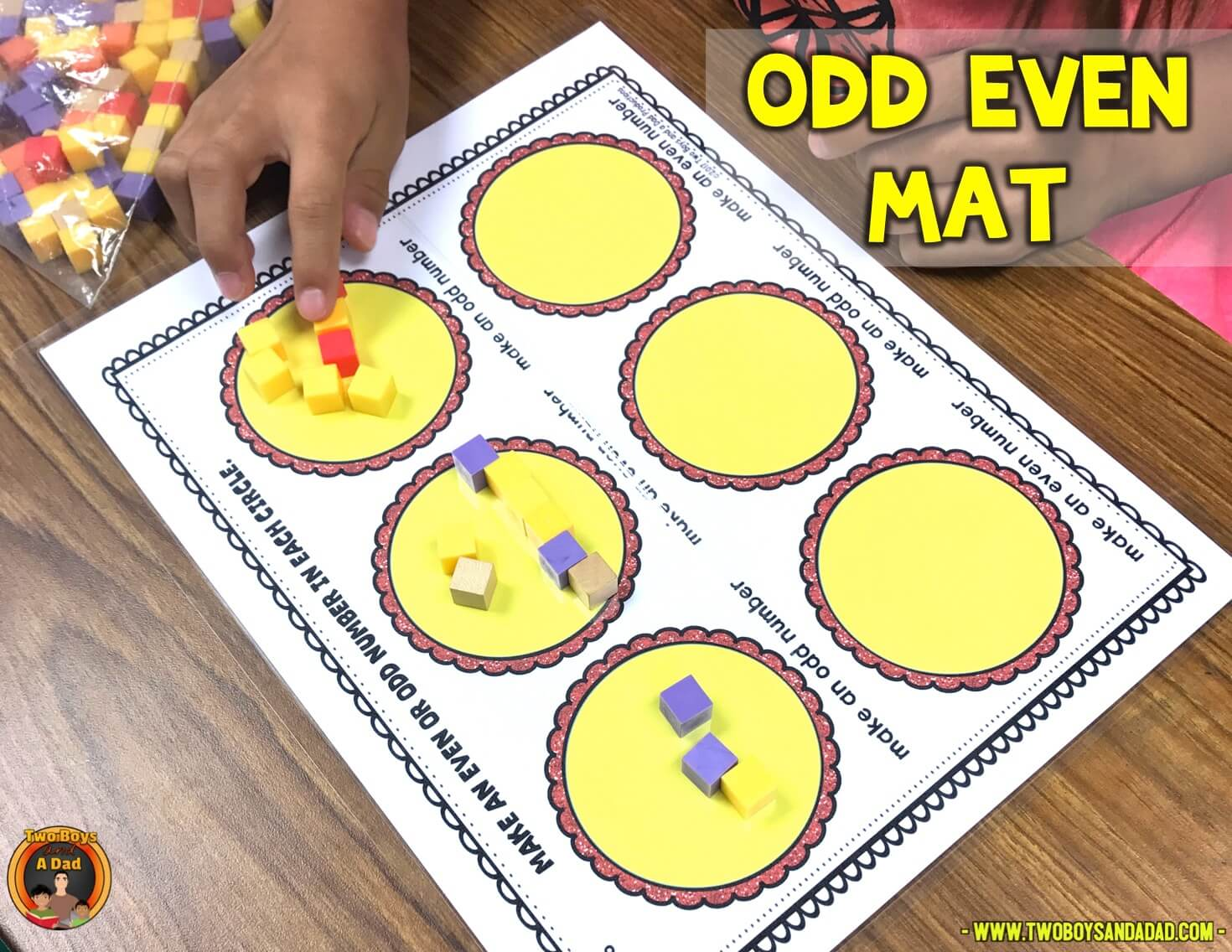 odd an even mat