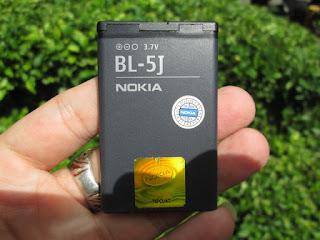 Baterai Nokia BL-5J Original 100%