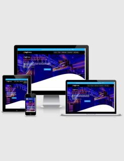 LogiComp Blogspot Theme Landing Page Builder