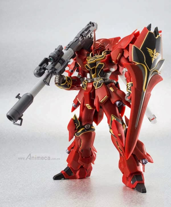 FIGURA ROBOT SPIRITS SIDE MS SINANJU Animation Edit. GUNDAM UC