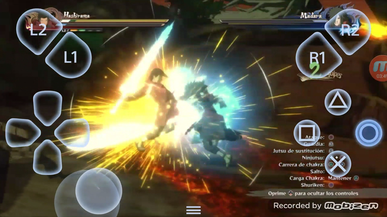 Naruto ultimate ninja storm 4 Android