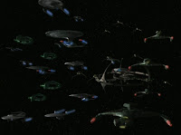 federation alliance departs for Cardassian space; Star Trek; Deep Space Nine; Klingons; Romulans