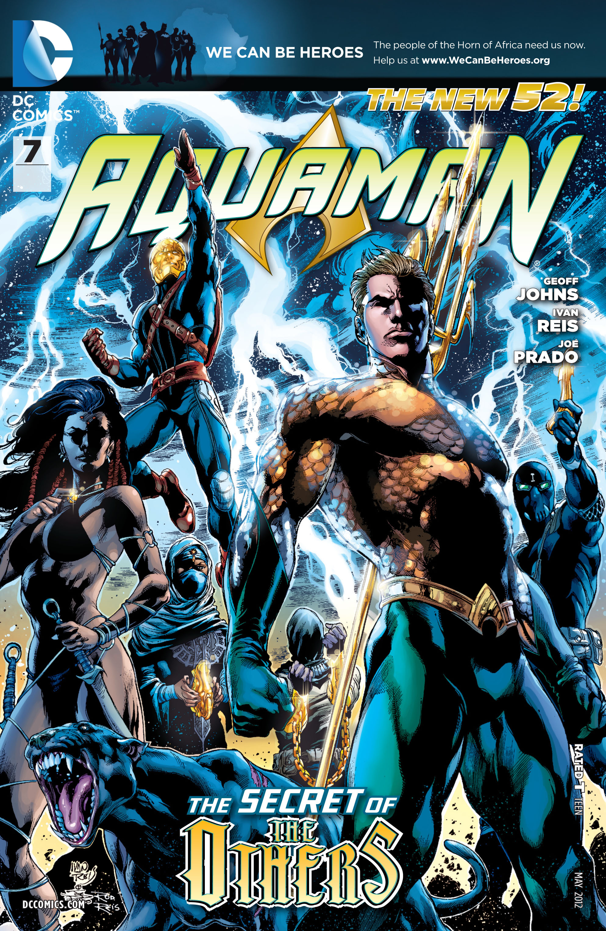 Aquaman (2011) 7 Page 1