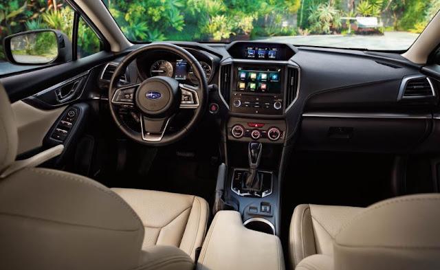 2018 Subaru Ascent Spied interior