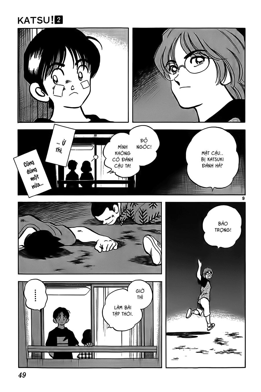 Katsu! chương 011: a, nhớ rồi! trang 11