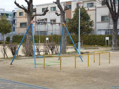 花川西公園ブランコ