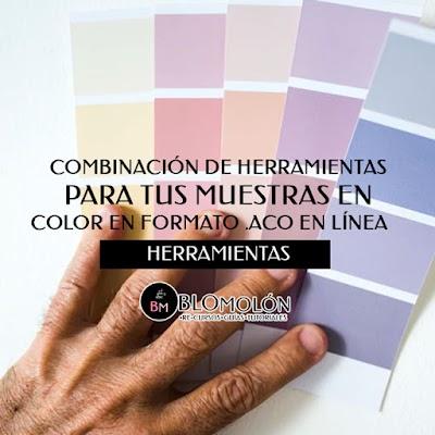 Combinación De Herramientas Para Tus Muestras En Color En Formato .ACO